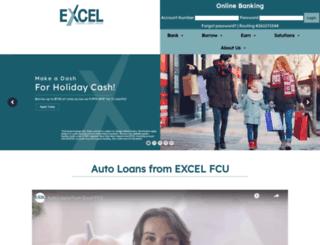 excelfcu.org screenshot