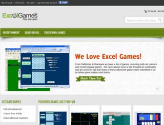 excelgames.com screenshot