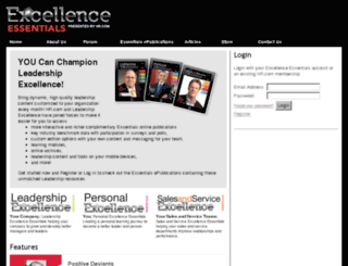 excellenceessentials.com screenshot