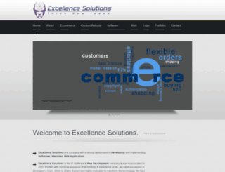 excellencesolutions.co.in screenshot