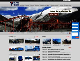 excellent-concasseur.com screenshot