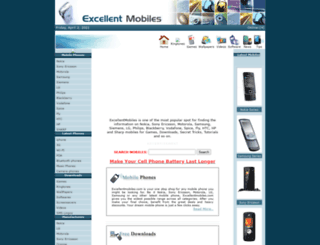 excellentmobiles.com screenshot