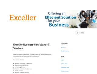 exceller.co.za screenshot