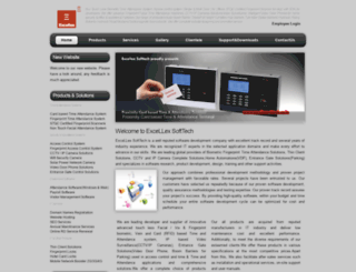 excellexsofttech.co.in screenshot