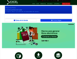 excelnegocios.com screenshot