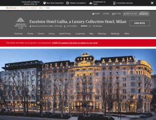 excelsiorhotelgallia.com screenshot