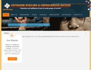 excelsiorwelfaresociety.com screenshot