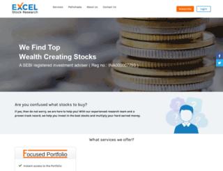 excelstockresearch.com screenshot