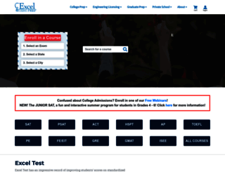 exceltest.com screenshot