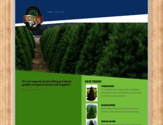 exceptionaltrees.com screenshot