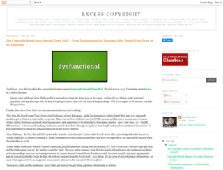 excesscopyright.blogspot.com screenshot