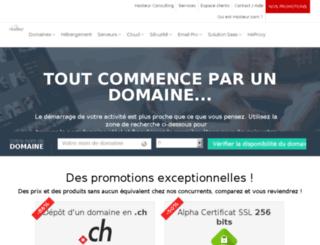 exchange-hebergement.com screenshot