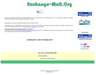 exchange-mail.org screenshot