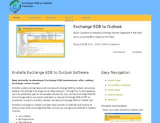 exchange.edbtooutlook.com screenshot