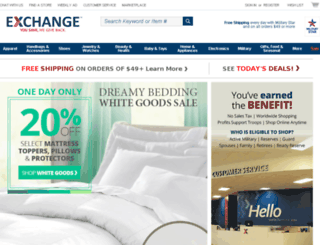 exchange.ethanallen.com screenshot