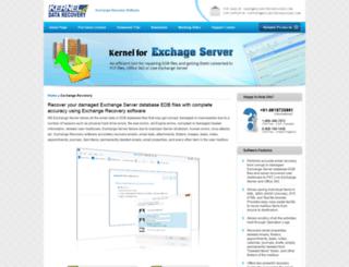 exchange.freedatarecoverysoftware.org screenshot