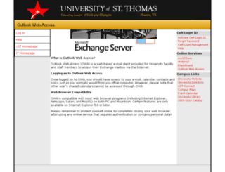 exchange.stthom.edu screenshot