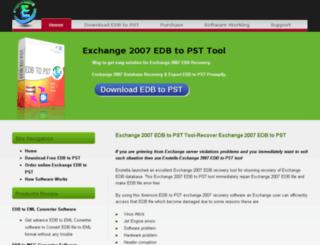exchange2007.edbtopsttool.com screenshot