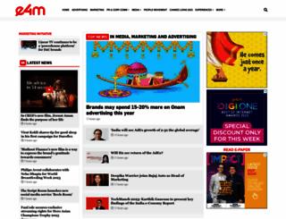 exchange4media.com screenshot