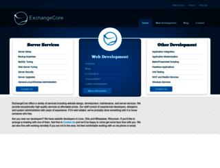 exchangecore.com screenshot