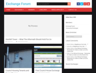 exchangeforum.co.uk screenshot