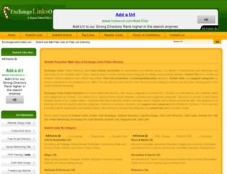exchangelinksonline.com screenshot