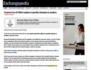 exchangepedia.com screenshot