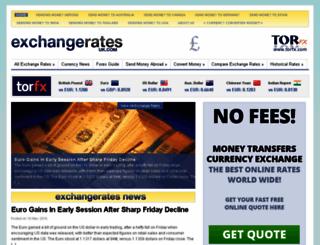 exchangerates.uk.com screenshot