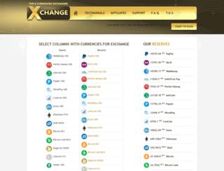 exchangeronline.com screenshot
