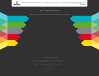 exchangerszone.com screenshot