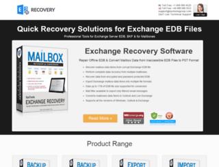 exchangetooutlook.net screenshot
