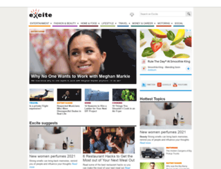 excite.co.uk screenshot