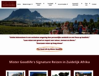 exclusiveculitravel.nl screenshot