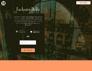 exclusivedelhi.com screenshot