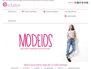 exclusivemanagement.es screenshot