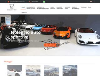 exclusivenoleggi.com screenshot