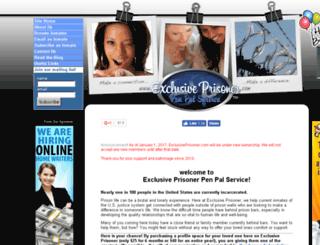 exclusiveprisoner.com screenshot