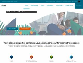 exco.fr screenshot