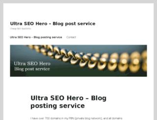 exdblog.com screenshot