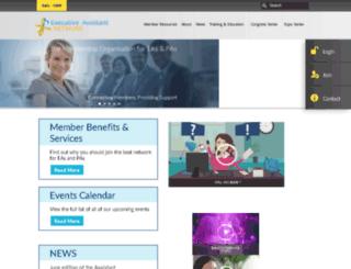 execassist.com.au screenshot