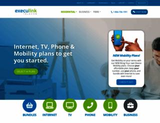 execulink.com screenshot