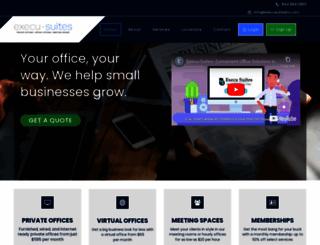 execusuitesinc.com screenshot