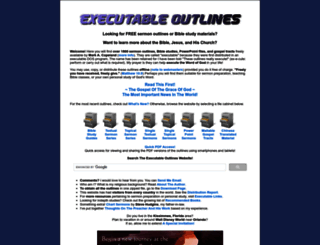 executableoutlines.com screenshot