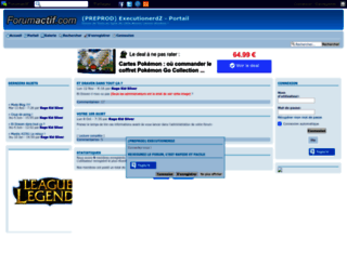 executionerdz.forum-pro.fr screenshot