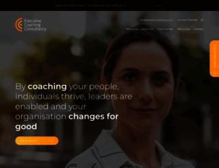 executive-coaching.co.uk screenshot