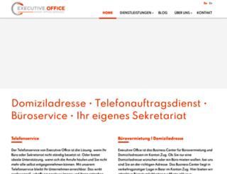 executive-office.ch screenshot