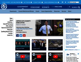 executive.macombgov.org screenshot