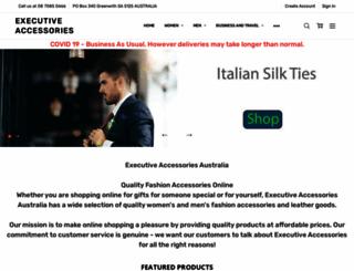 executiveaccessories.com.au screenshot