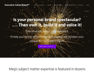 executivecareerbrand.com screenshot