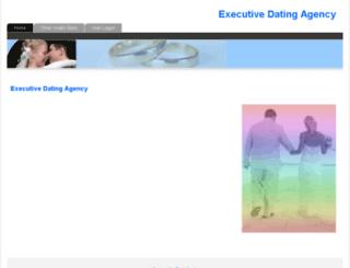executivedatingagency.co.uk screenshot